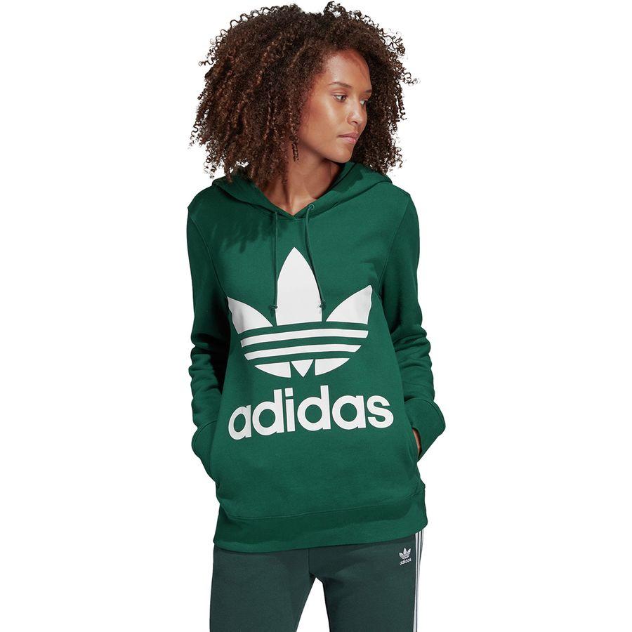 69525ce7 Adidas - Trefoil Hoodie - Women's - Collegiate Green