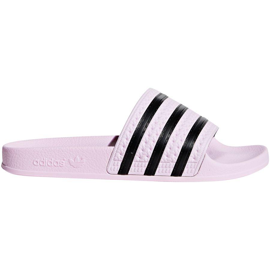 online store e56c1 3b9d5 Adidas - Adilette Sandal - Women s - Clear Pink Clear Pink Core Black