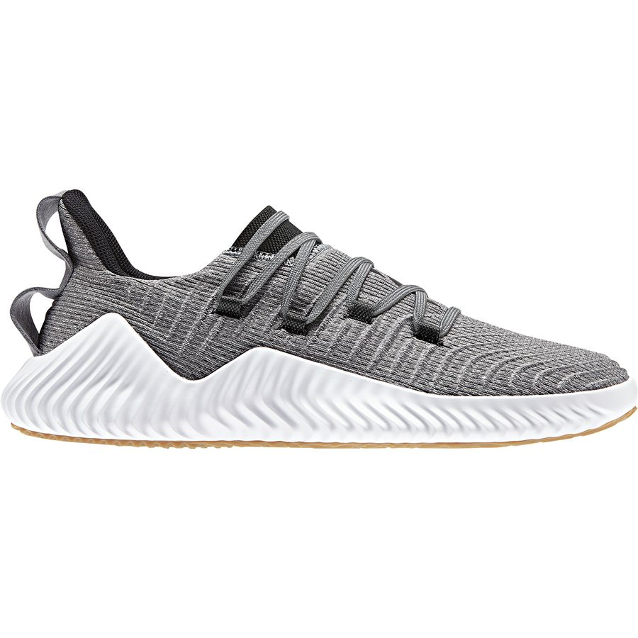 402246a9a78c Adidas - Alphabounce Trainer Shoe - Men s - Grey Three F17 Core Black Raw