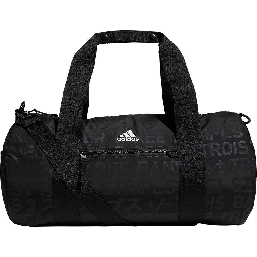 Adidas - VFA Roll Duffel Bag - Black Emboss Black e5ad4c94b84c6