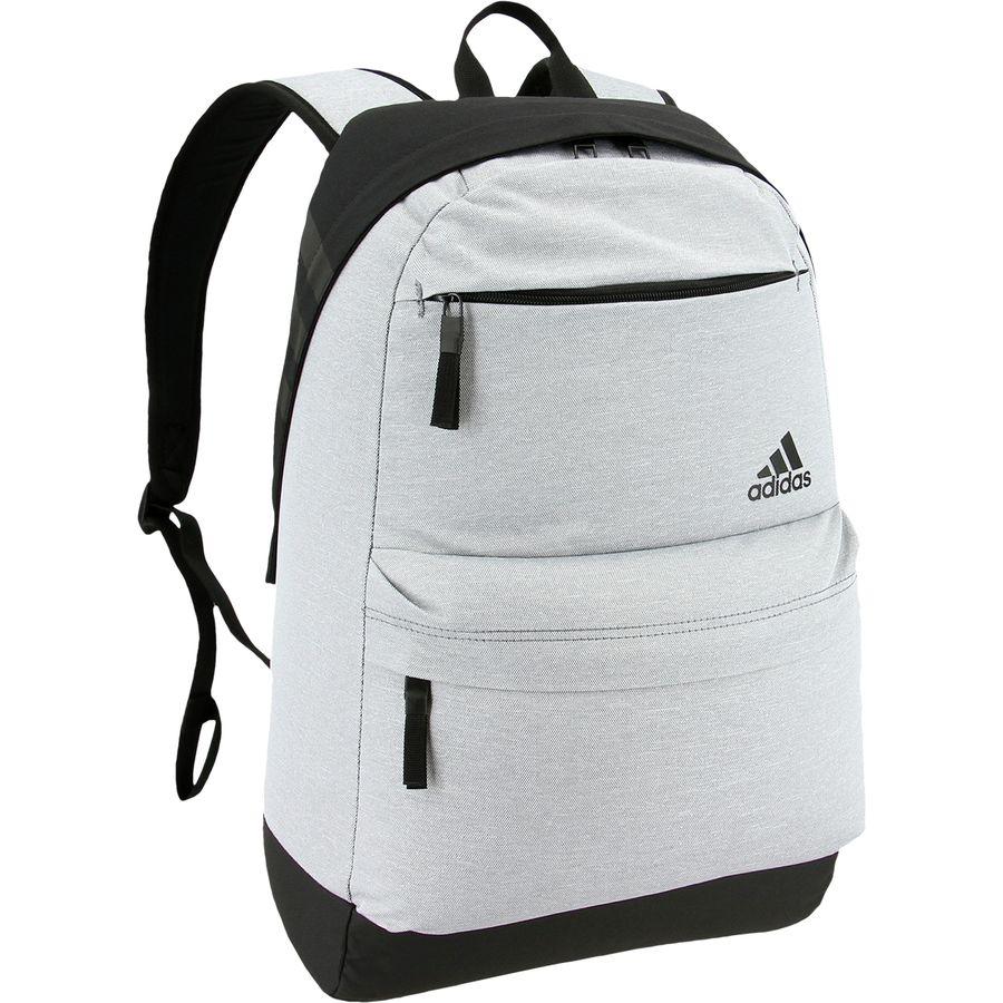 97ef4b400802 Adidas - Daybreak II Backpack - Grey Heather Black