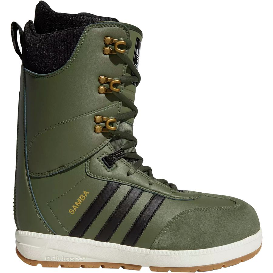 2a17224dd73 Adidas - Samba ADV Snowboard Boot - Men s - Base Green Black Off White