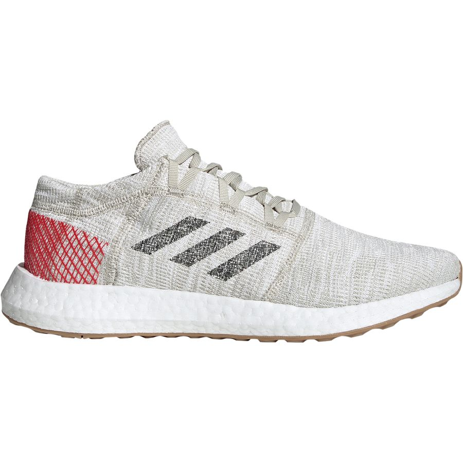 timeless design 859d0 99b5d Adidas - Pureboost GO Running Shoe - Men's - Clear Brown/Carbon/Active Red