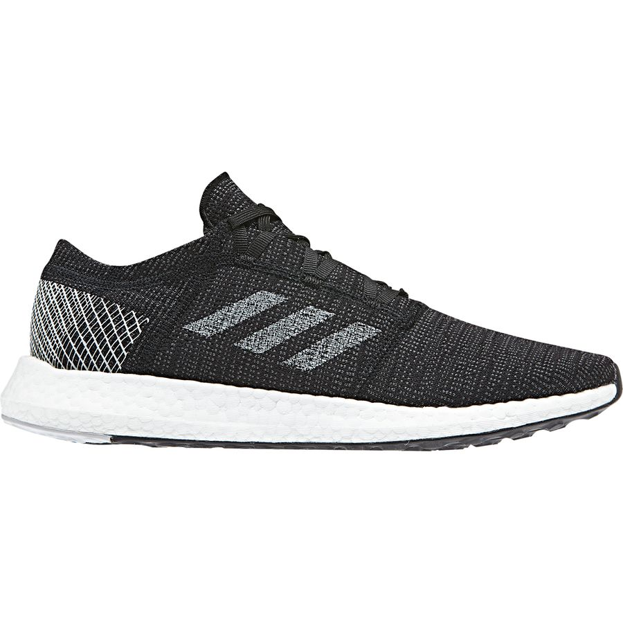 official photos 31756 b0174 Adidas - Pureboost GO Running Shoe - Men s - Core Black Grey One F17