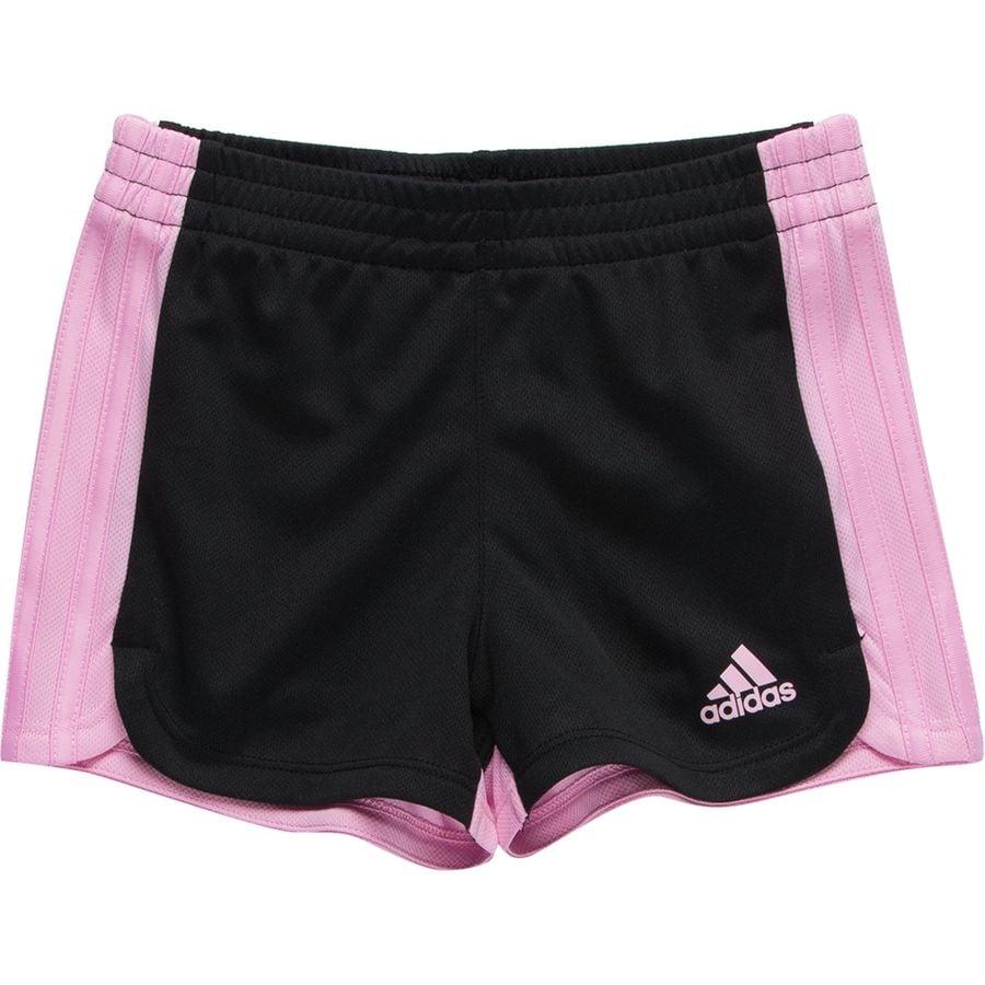 Adidas 3 Stripe Blocked Short Toddler Girls'