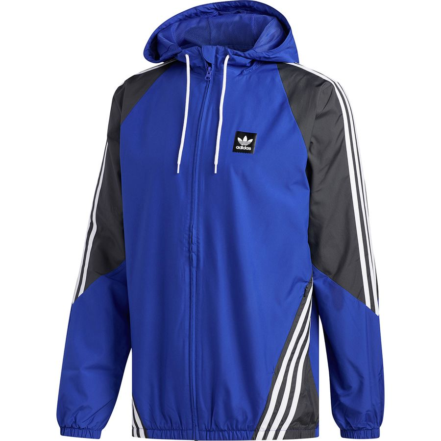04441c377 Adidas - Insley Jacket - Men's - Active Blue/Dgh Solid Grey/White
