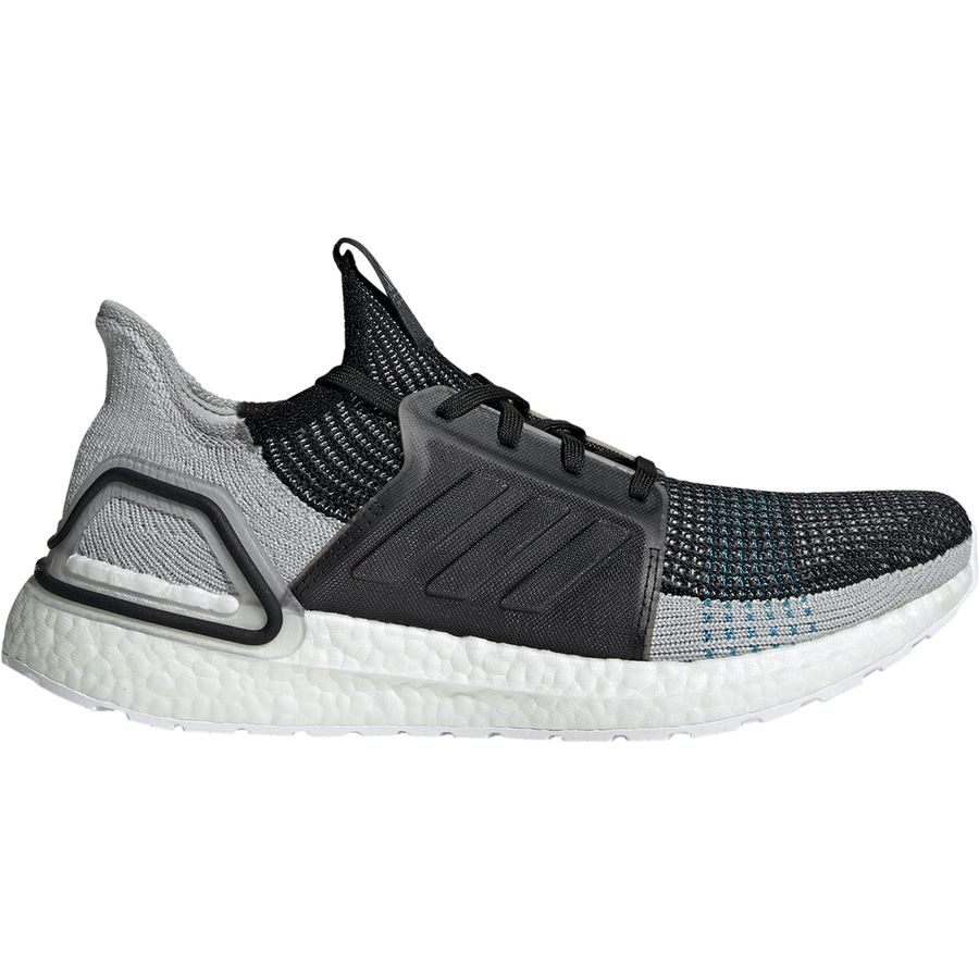 c161820a37b1b Adidas - UltraBOOST 19 Shoe - Men s - Core Black Grey Six Shock Cyan
