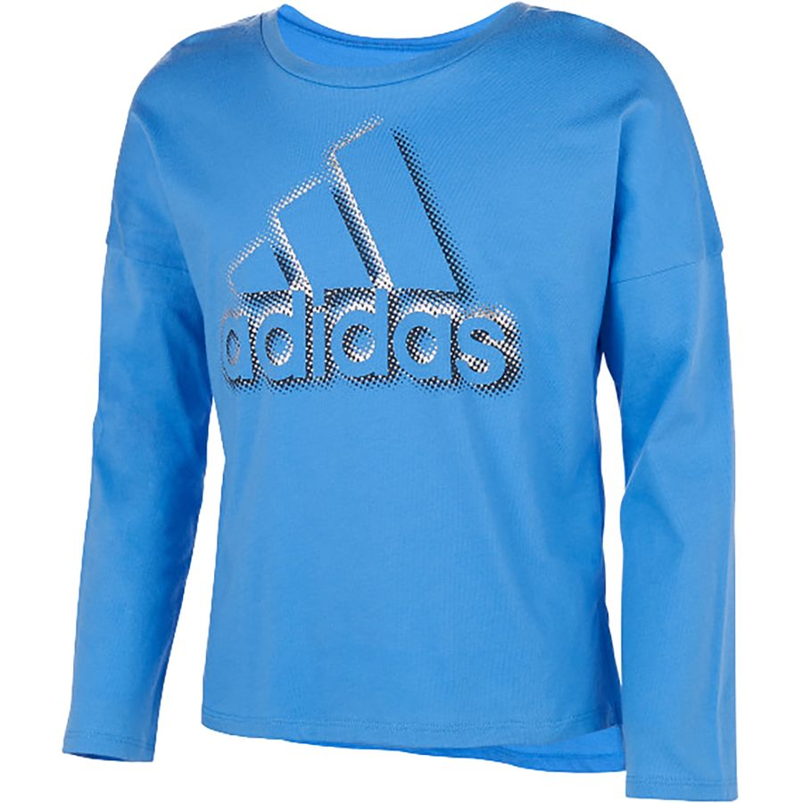 nouveau style 9ddeb 62235 Adidas Dot Shadow Long-Sleeve T-Shirt - Girls'