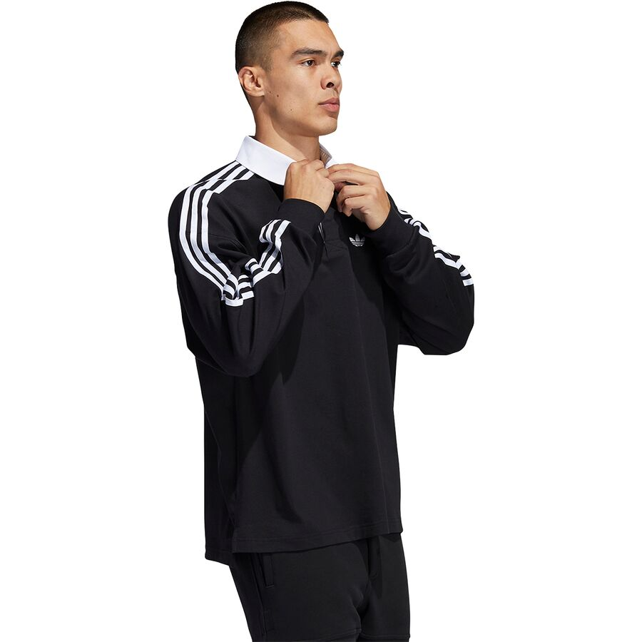Adidas Solid Rugby Shirt - Men's