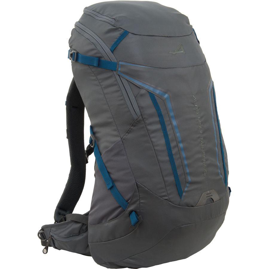 664004ef5ff7 ALPS Mountaineering - Baja 40L Backpack - Charcaol Deep Sea