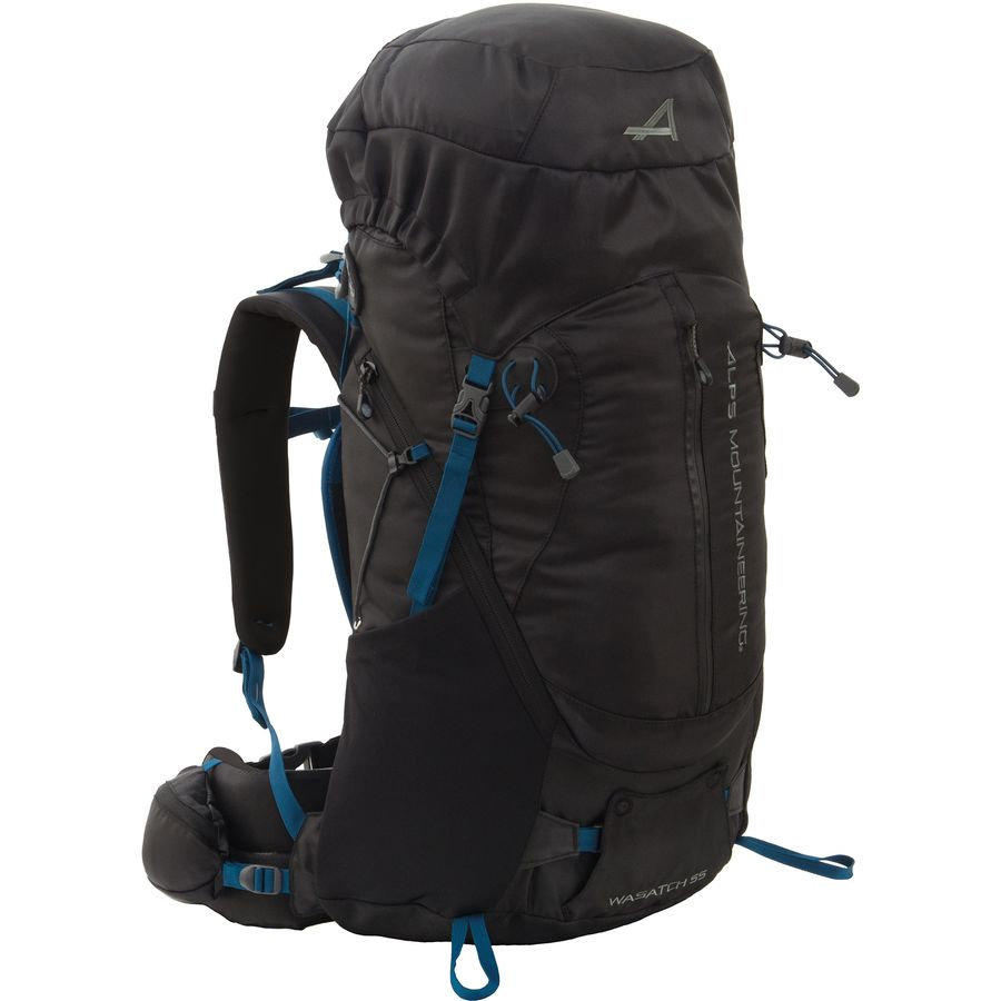 5820ace0a37b ALPS Mountaineering - Wasatch 55L Backpack - Black