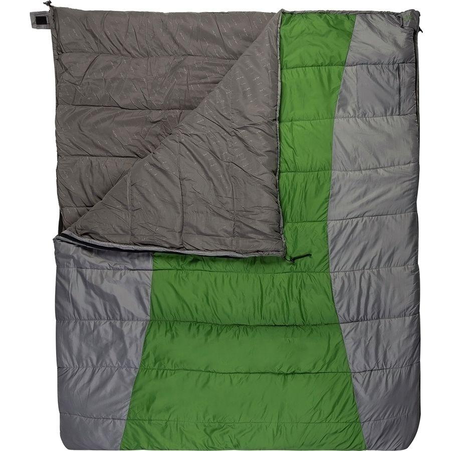 Alps Mountaineering Double Wide Sleeping Bag 20 Degree Synthetic