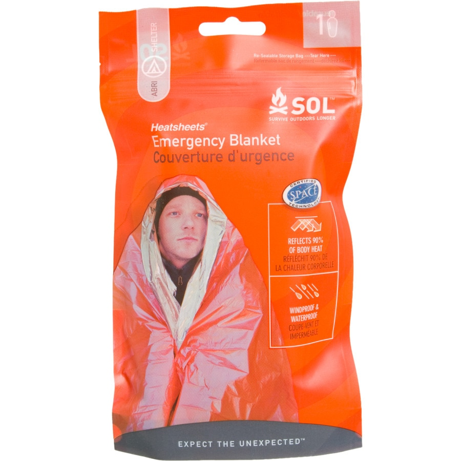 Adventure Medical Sol Emergency Blanket Backcountry Com