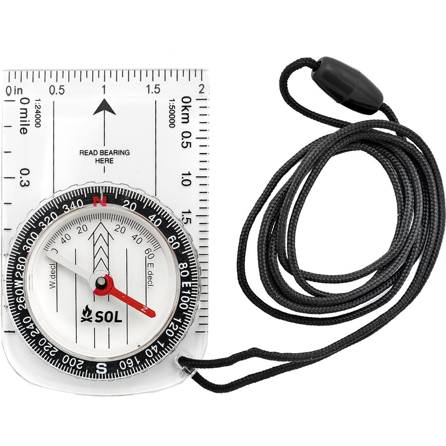 Adventure Medical - Map Compass - One Color