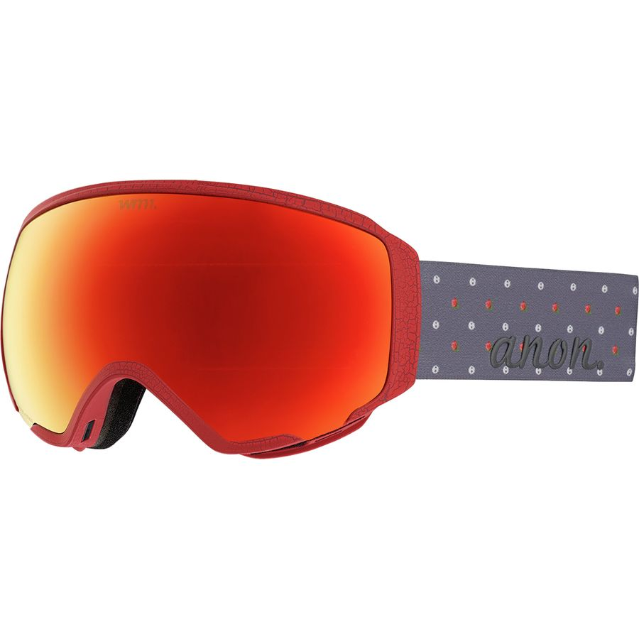 Anon - WM1 Goggles - Women s - S r Sonar Red-sonar Infrared 378209fc7