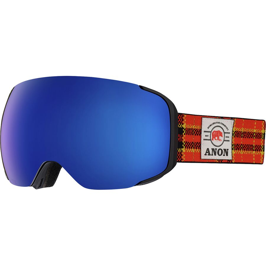 a2db6d70d99a Anon - M2 Goggles - Flannel Sonar Infrared Blue-sonar Infrared