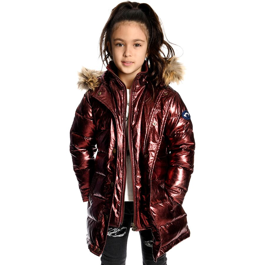 Appaman Long Down Coat - Toddler Girls