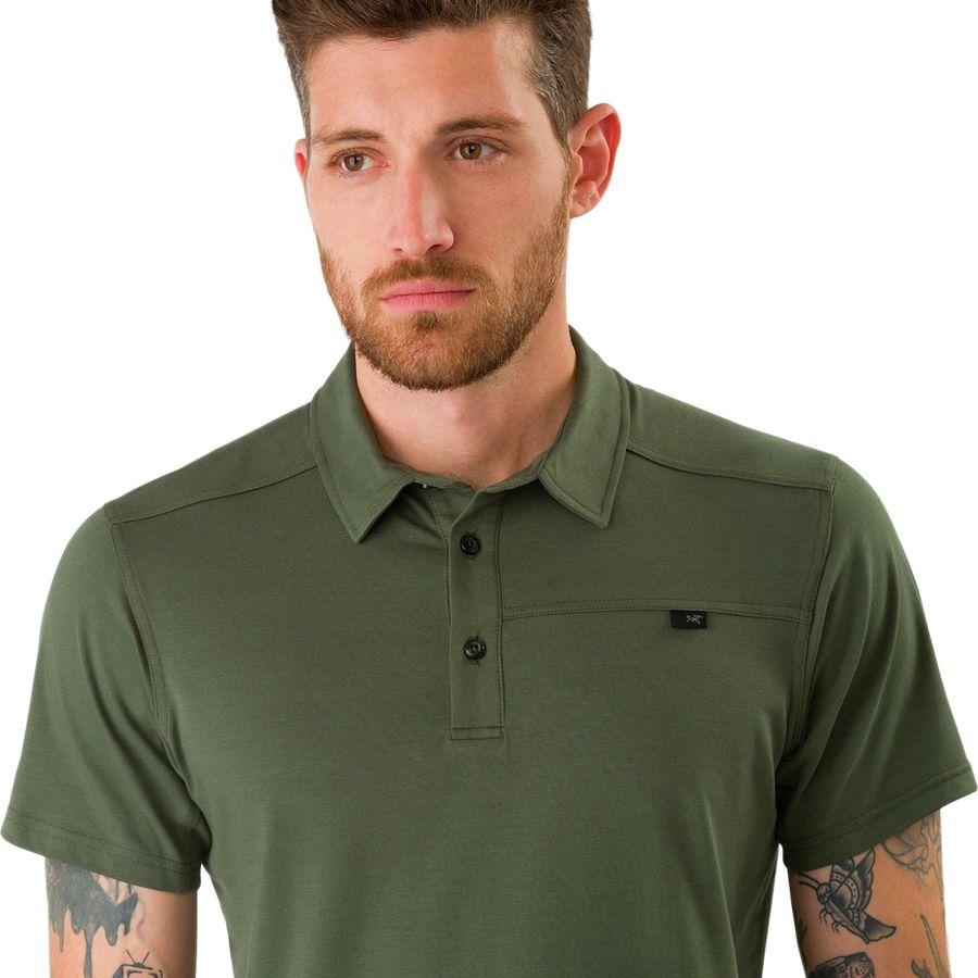 487bd1620a Arc'teryx Captive Short-Sleeve Polo Shirt - Men's   Backcountry.com