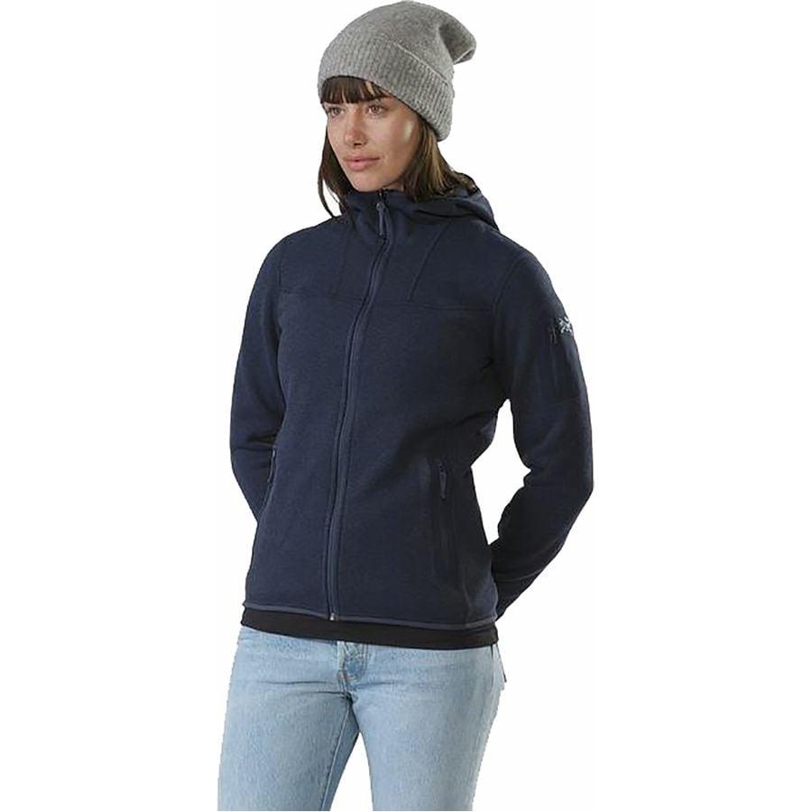 a8aa5515190 Arc'teryx - Covert Hooded Fleece Jacket - Women's - Black Sapphire