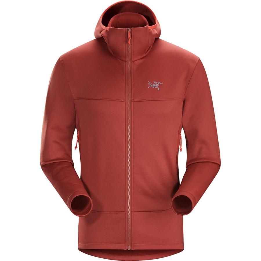 Arc'teryx Arenite Hooded Fleece Jacket - Men's | Backcountry.com
