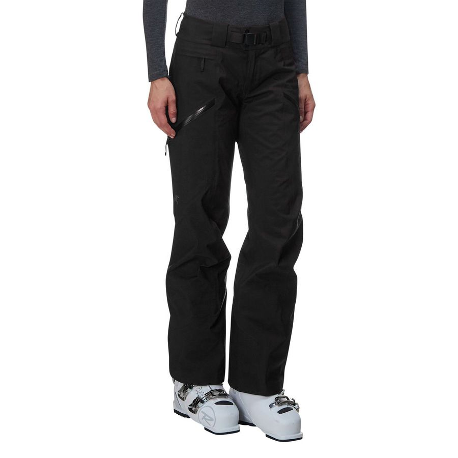 sentinel women Women's gore-tex big mountain ski and snowboard pants with a warm flannel  liner, exceptional freedom of movement, and performance fit.