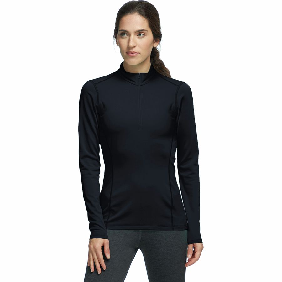 Arcteryx Phase AR Zip-Neck Top - Womens