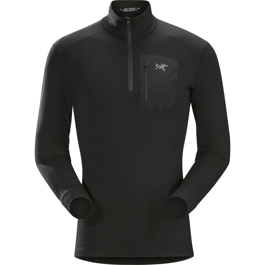 Arcteryx Satoro AR Zip Neck Top - Mens