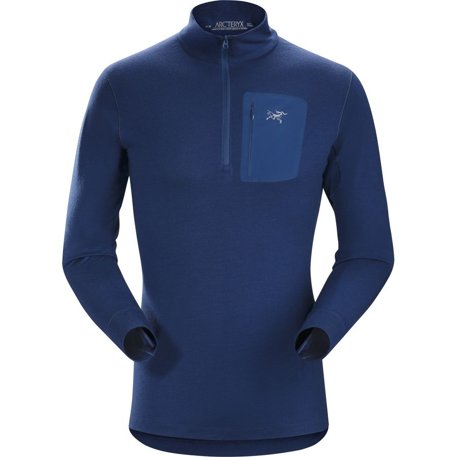 Arcteryx Satoro SV Zip-Neck Top - Mens