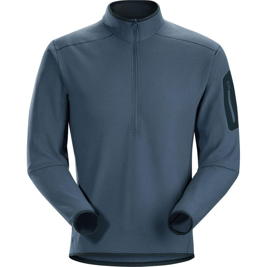 Arc Teryx Delta Lt Zip Neck Fleece Pullover Men S