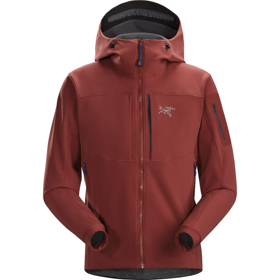 Arcteryx Gamma MX Hooded Softshell Jacket - Mens