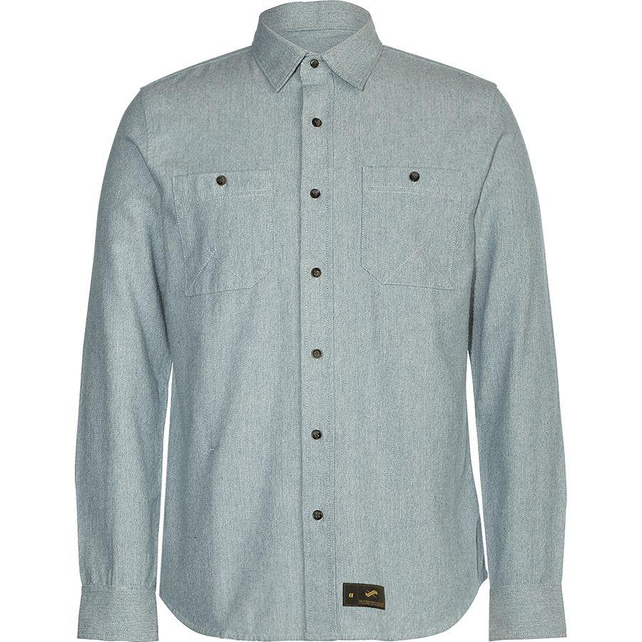 Armada Baker Flannel Shirt - Mens