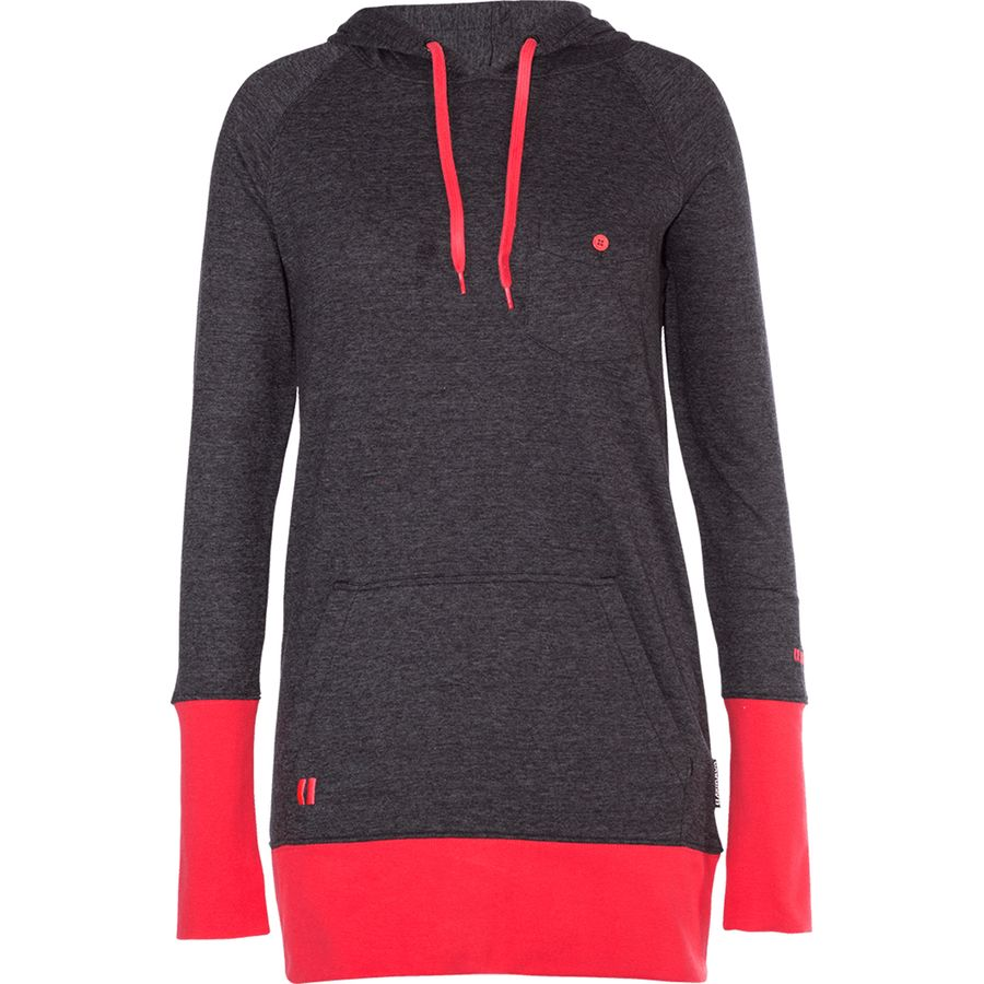 Armada - Feather Pullover Hoodie - Women s - Black 10d94363f5