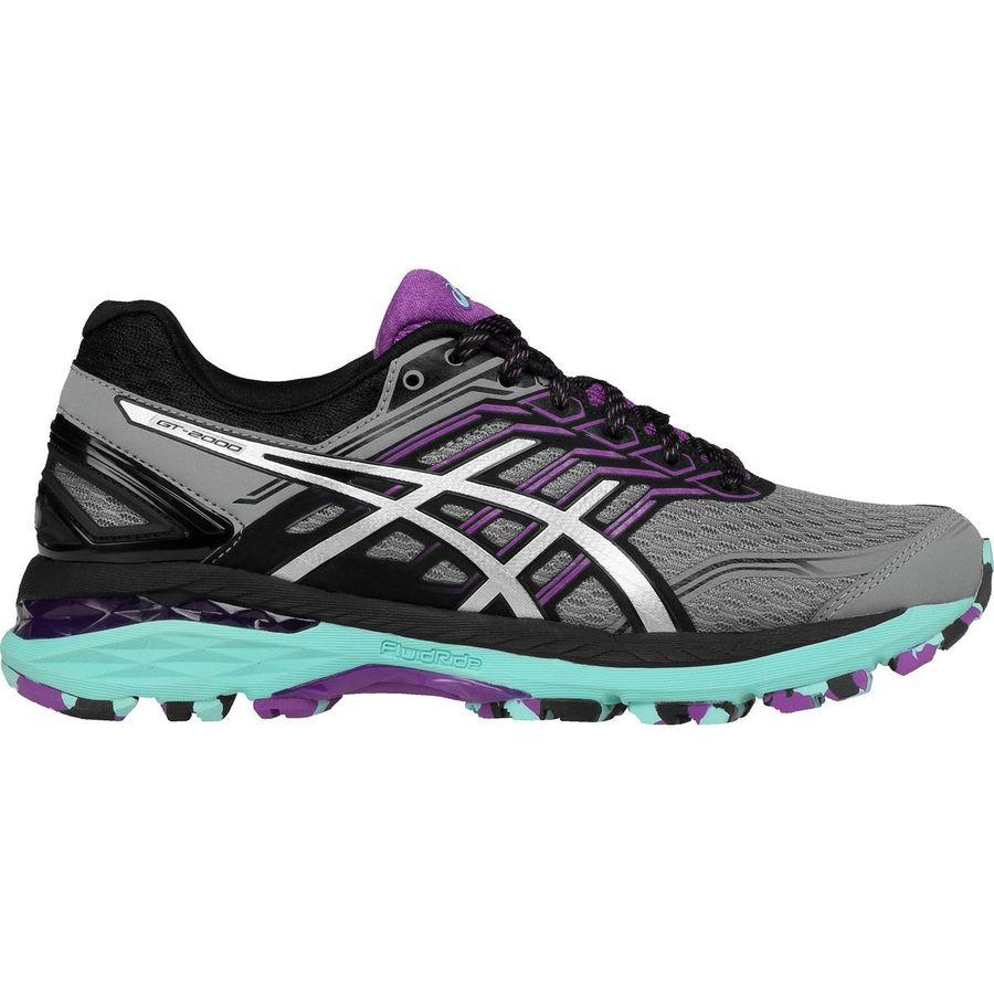 Asics Gt 2000 5 Trail Running Shoe Women S Aluminum Silver