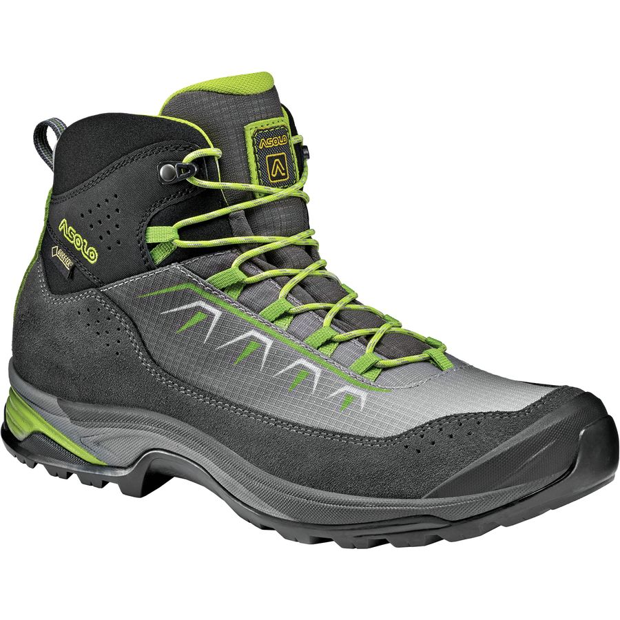 Asolo - Soul GV Hiking Boot - Men's - Graphite/Silver/Green Lime