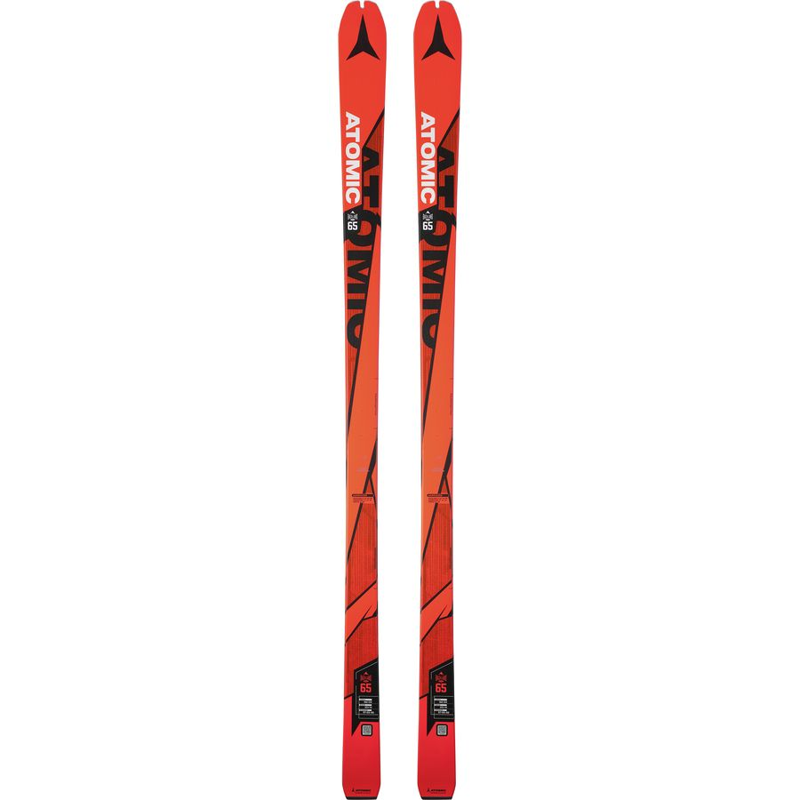Atomic - Backland UL 65 Alpine Touring Ski - Orange/Black