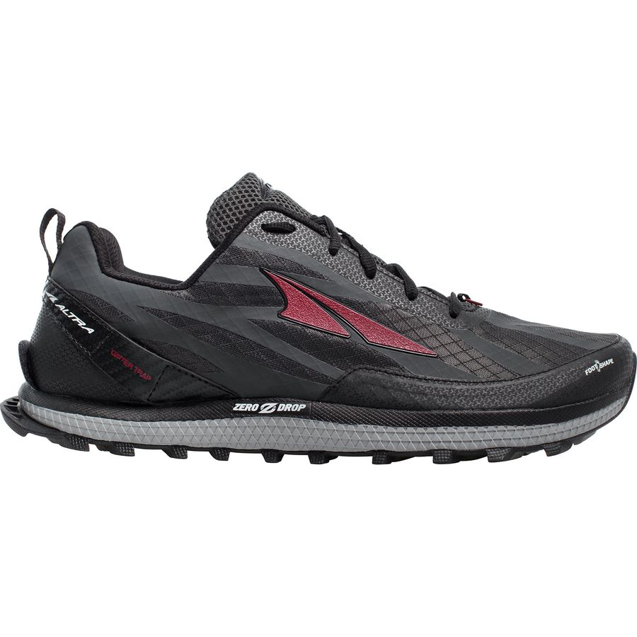 Altra Superior 3 5 Mens Shoes Black/Red