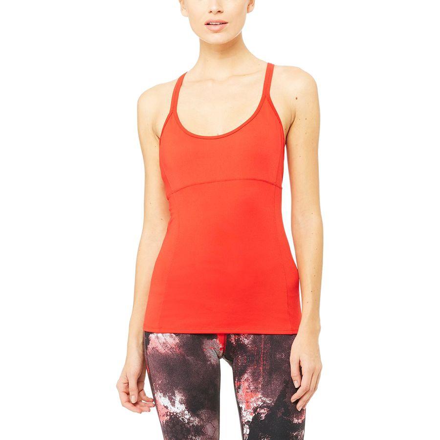 Alo Yoga Lotus Bra Tank Top - Womens