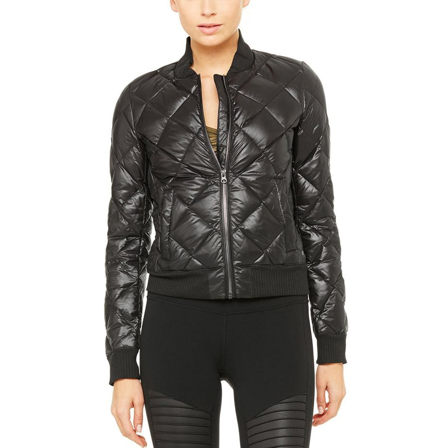 Alo Yoga Idol Bomber Down Jacket - Womens