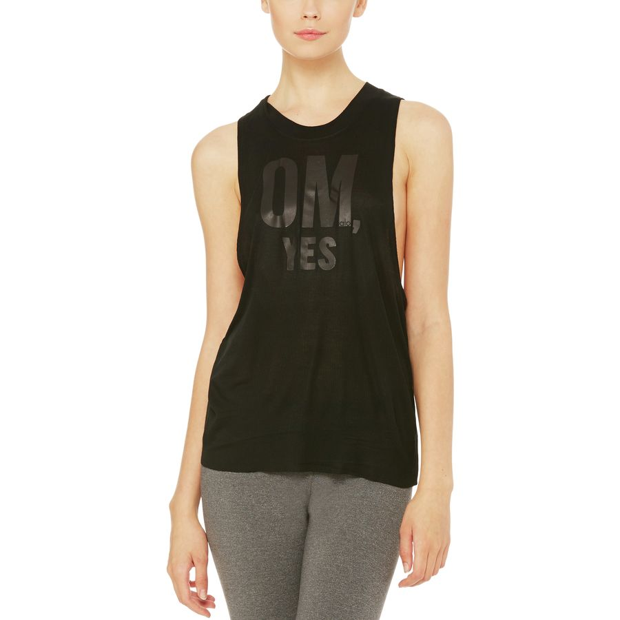Alo Yoga Heat-Wave Graphic Tank Top - Womens