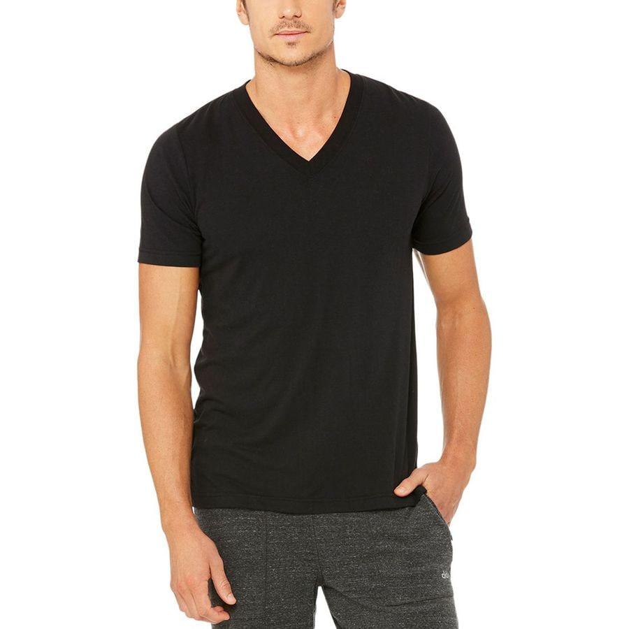 Alo Yoga Easy V-Neck T-Shirt - Mens