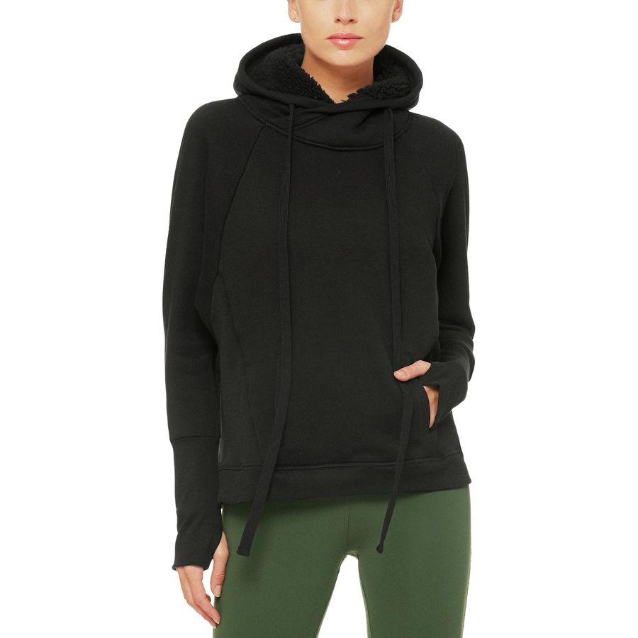 Alo Yoga Frost Long-Sleeve Pullover Hoodie - Womens