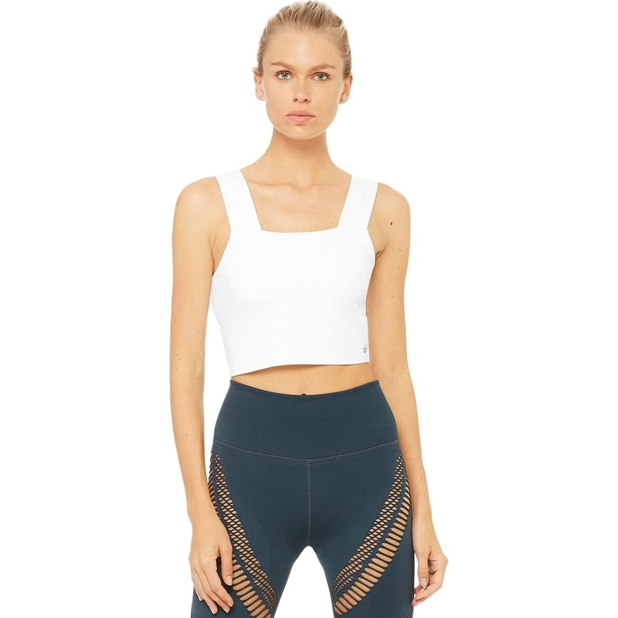 149ba4aae84 Alo Yoga Bind Fitted Bra Tank Top - Women's | Backcountry.com