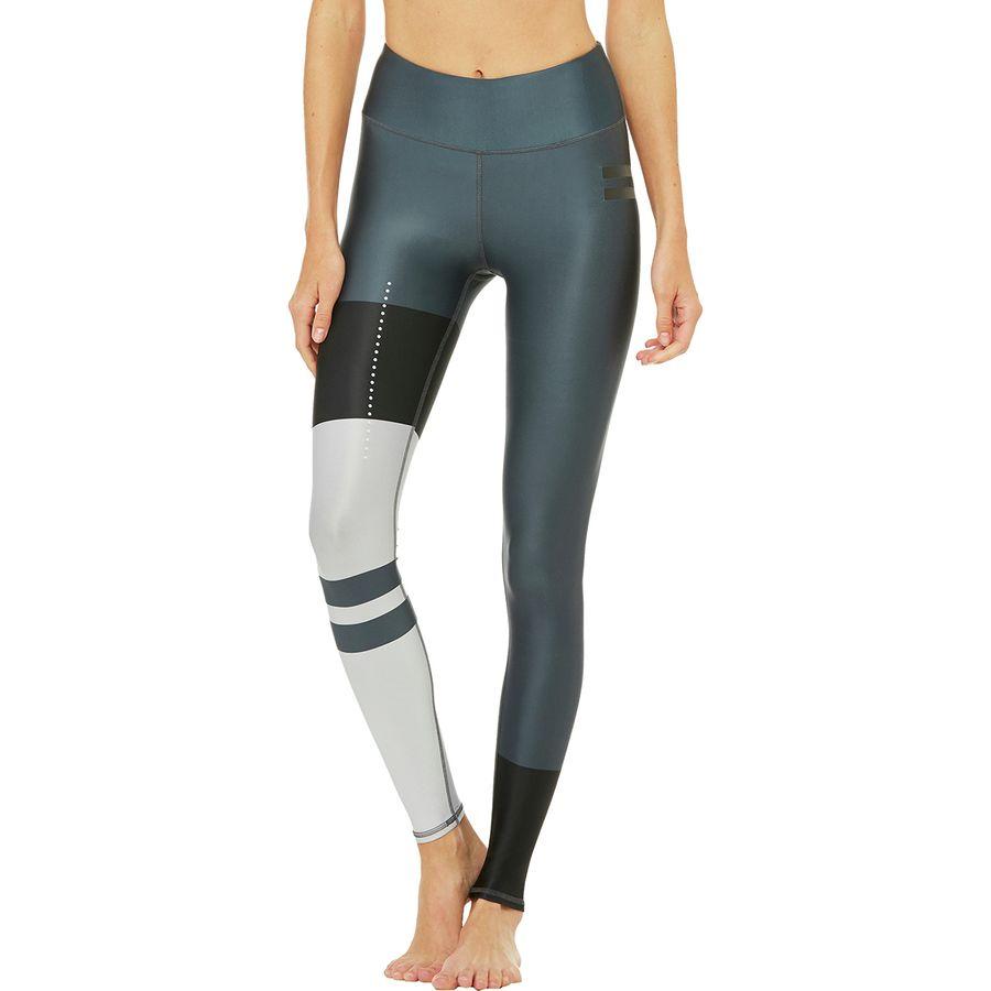 Alo Yoga High-Waist Tech Lift Airbrush Colorblock Legging - Womens