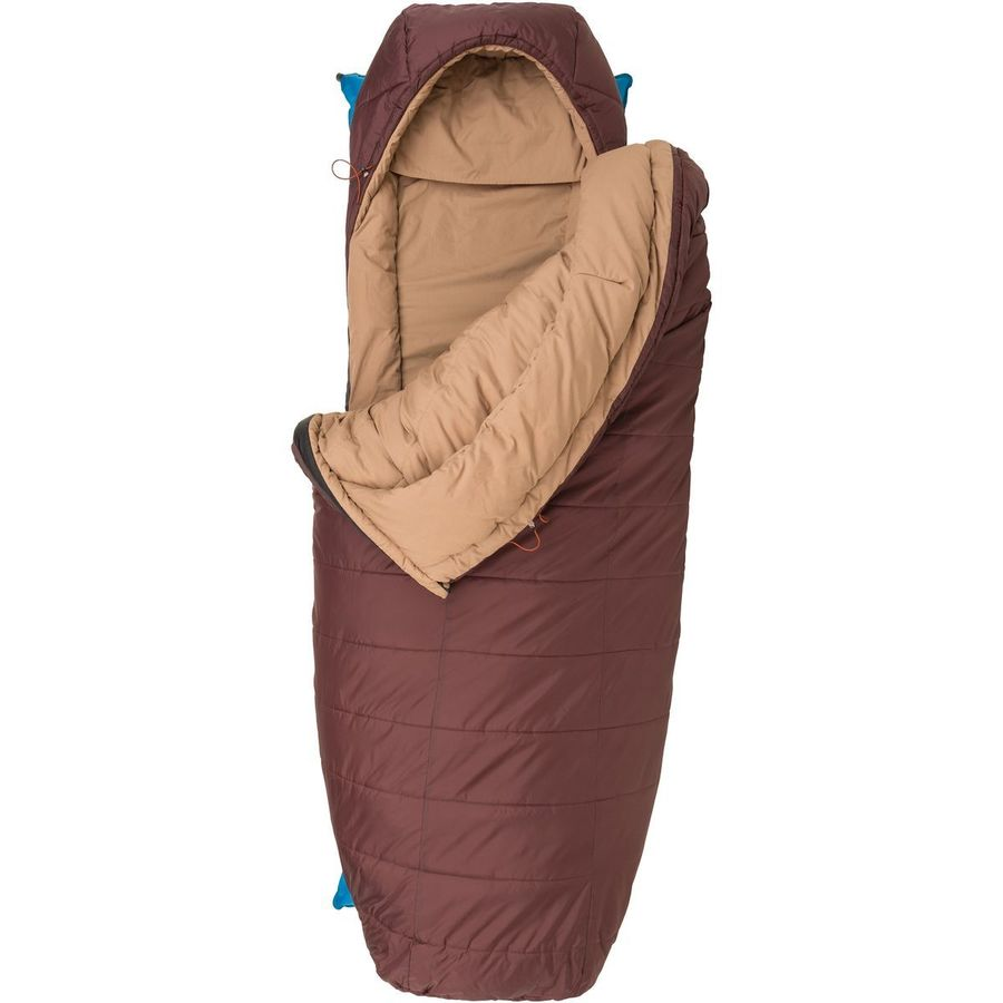 Agnes Elk Park Sleeping Bag 20 Degree Synthetic Chocolate