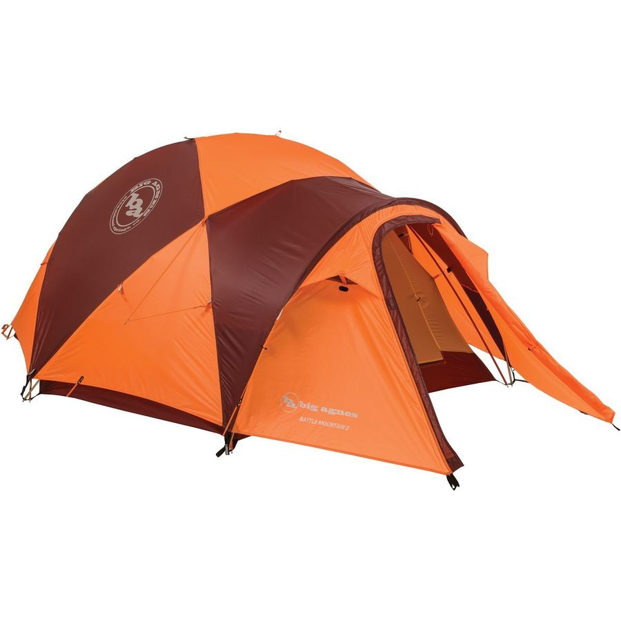 Big Agnes - Battle Mountain Tent 3-Person 4-Season - Orange/  sc 1 st  Backcountry.com & Big Agnes Battle Mountain Tent: 3-Person 4-Season | Backcountry.com