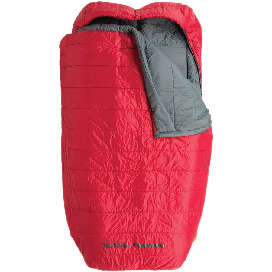 Agnes Creek Double Sleeping Bag 30 Degree Synthetic Red
