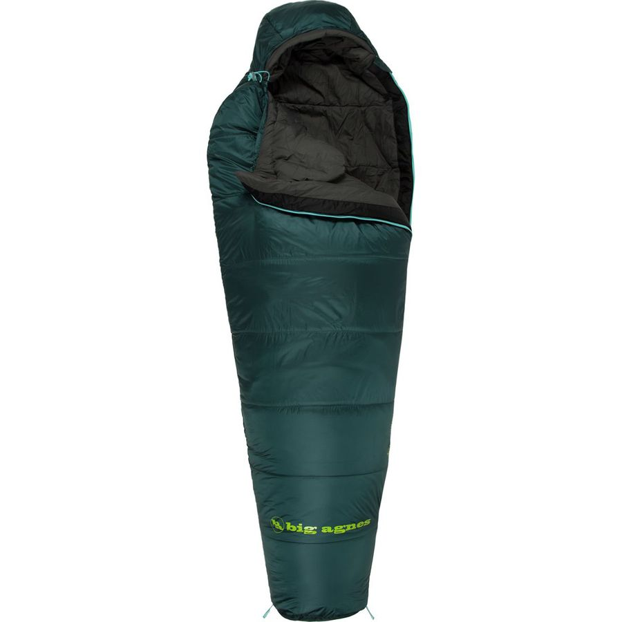 Big Agnes BenchMark Sleeping Bag: 0 Degree Synthetic ...