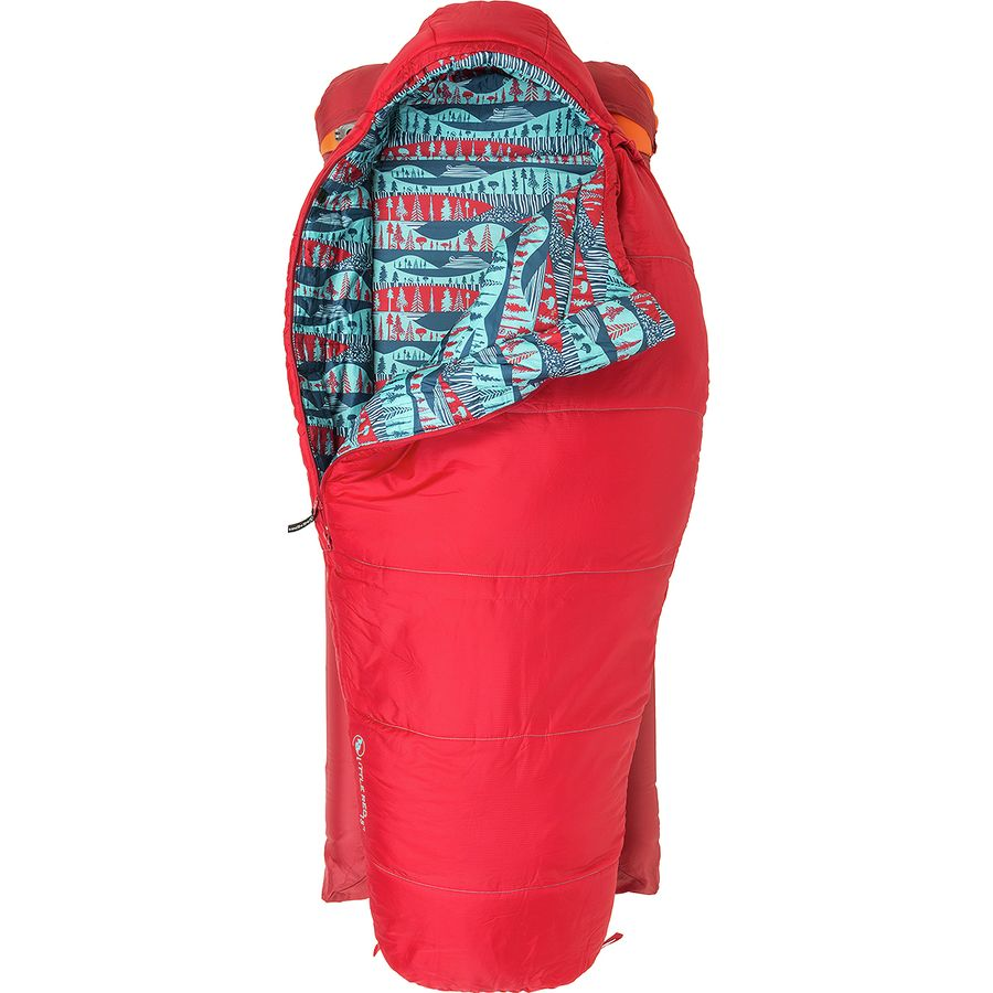 Agnes Little Red Sleeping Bag 15 Degree Synthetic Kids