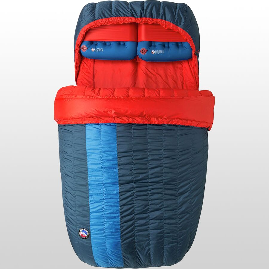 Snuggle up with a double sleeping bag
