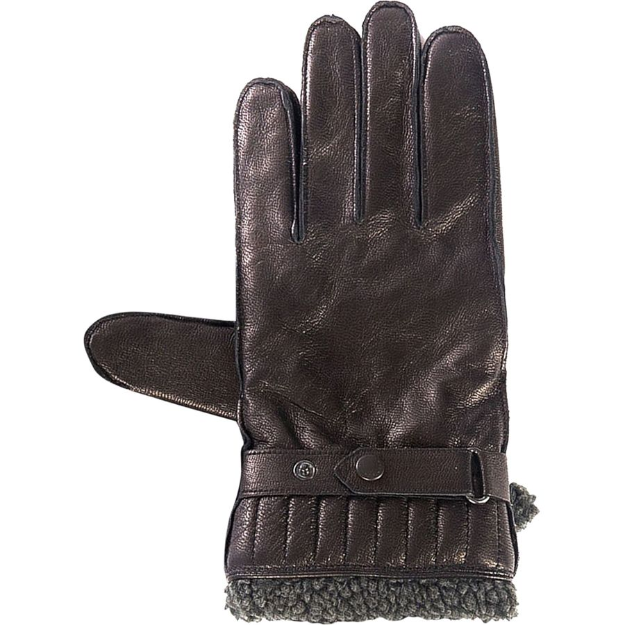 Osprey womens leather gloves - Barbour Tindale Leather Glove Black